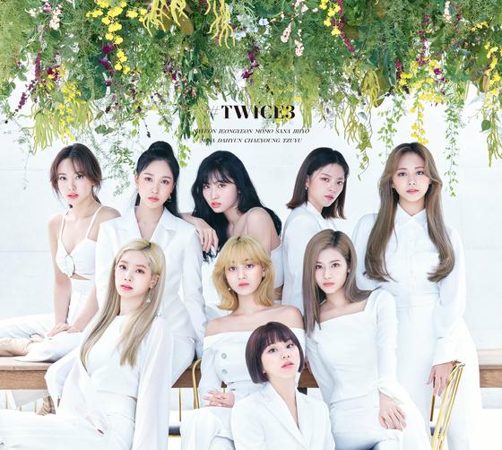 "Girl group Twice's upcoming Japanese album ""#TWICE3"" [JYP ENTERTAINMENT]"
