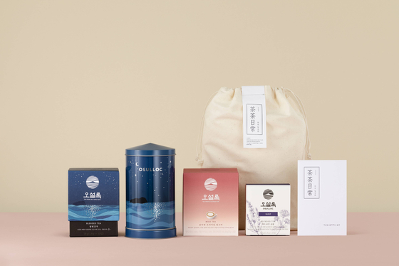 Amorepacific's Osulloc sends tea and tea-related products every month to its subscribers of the Da Da Il Sang service. [OSulloc]