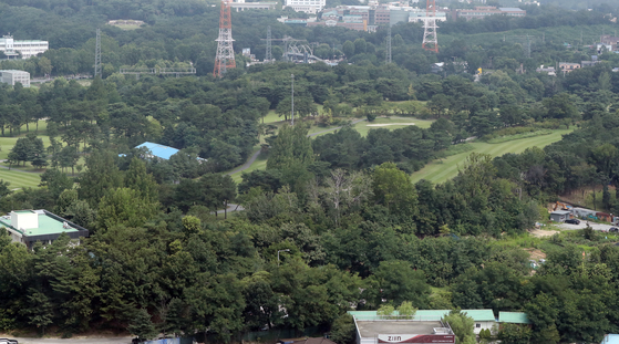 Taereung Country Club of the Korean Military Academy in Nowon District of Seoul.  [YONHAP]