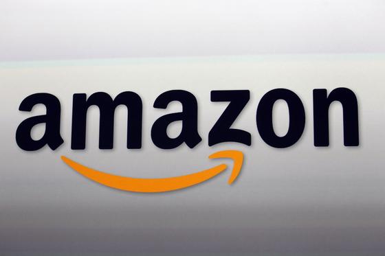 The Amazon logo in Santa Monica, Calif. [AP Photo]