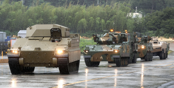 Hanwha Defense, a Korean defense manufacturer, will deliver three prototypes of its newly developed armored vehicle dubbed Redback to Australia as part of its bid for Canberra's $4.6-billion project to buy new infantry fight vehicles.