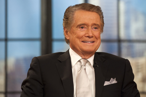 """Regis Philbin, the genial host who shared his life with television viewers over morning coffee for decades and got rich along with some contestants with the game show 'Who Wants to Be a Millionaire,"""" died on Friday, July 24, 2020. [AP]"""