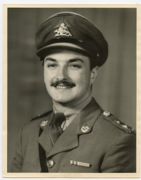 Claude Charland before leaving for Korea in November 1951. [CLAUDE CHARLAND]