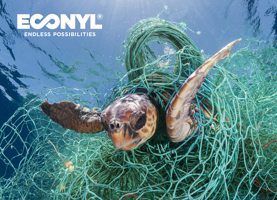 Econyl is a regenerated nylon material made by Italian textile company Aquafil. [ECONYL]