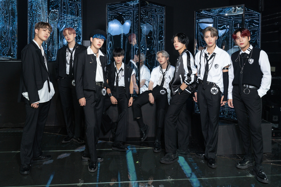 Boy band Ateez [KQ ENTERTAINMENT]