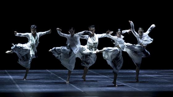 "The National Dance Company of Korea's ""Ceremony 64."" [NATIONAL DANCE COMPANY OF KOREA]"