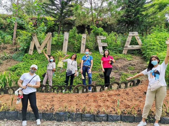 Tourists take photos at Milea Bee Farm. [PHILIPPINES DEPARTMENT OF TOURISM]