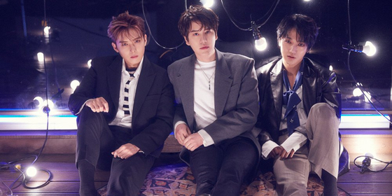 Boy band Super Junior-K.R.Y. From left are members Ryeowook, Kyuhyun and Yesung — the main vocalists of the boy band Super Junior. [LABEL SJ]