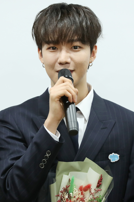 Lim Young-min of boy band AB6IX. [YONHAP]