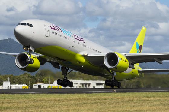 Jin Air aircraft. [JIN AIR]