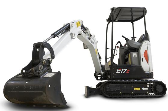 Doosan Bobcat's small excavator model E17Z. [DOOSAN BOBCAT]