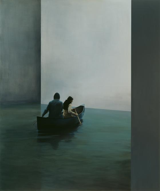 "Tim Eitel's ""Boat"" (2004) [DAEGU ART MUSEUM]"