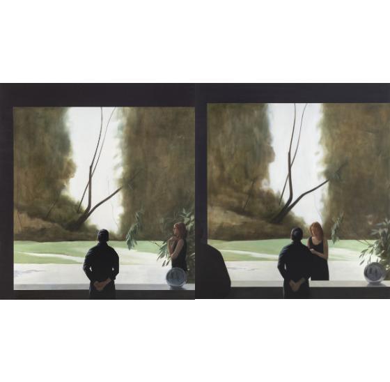 "Tim Eitel's newest work ""Mexican Garden (1st View)"" and 'Mexican Garden (2nd View)"" [DAEGU ART MUSEUM]"