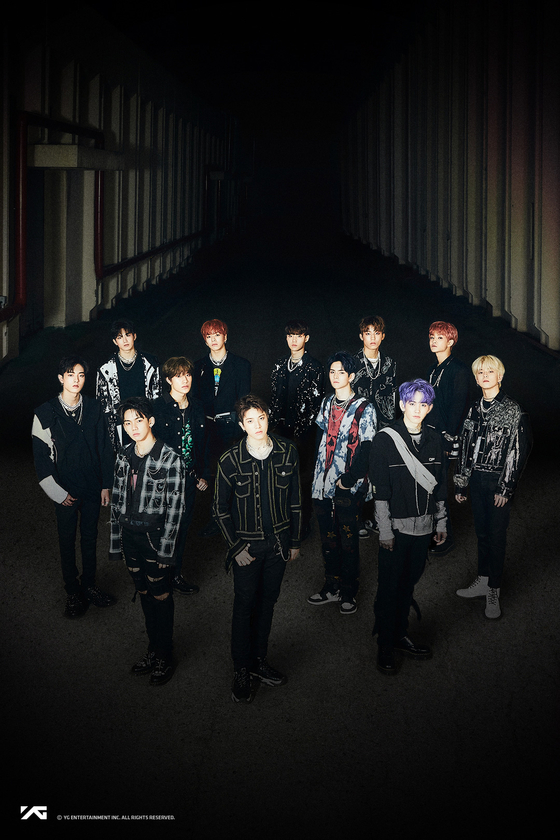 Boy band Treasure [YG ENTERTAINMENT]