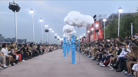 Songs from Korean indie band Hyukoh were used in the opening of Louis Vuitton Men's Spring-Summer 2021 Show in Shanghai on Aug. 6. [DooRooDooRoo Artist Company]