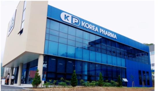 Korea Pharma, a prescription drug manufacturer and a contract manufacturing organization, listed on the secondary bourse Kosdaq on Monday. [KOREA PHARMA]