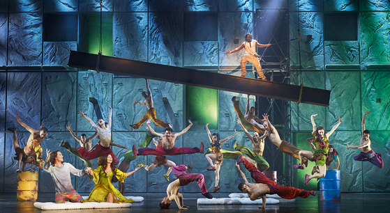"""The original French production team of the musical 'Notre Dame de Paris"""" comes to Seoul in five years with updated lights, props and costumes. [MAST ENTERTAINMENT]"""