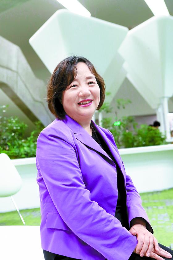 Choi Kyung-ran, head of the Seoul Design Foundation. [CHOI JEONG-DONG]