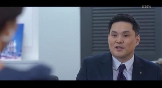 "Actor Seo Sung-jong from the scene of KBS drama series ""Men are Men."" [KBS]"