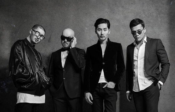 Erbolat Bedelhan, founder of Q-pop agency JUZ Entertainment, in his band Orda [JUZ ENTERTAINMENT]