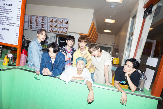 """The teaser image for BTS's new single """"Dynamite"""" [BIG HIT ENTERTAINMENT]"""