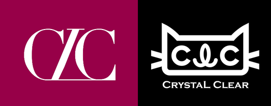 The new logo for CLC, left, and the old logo. [SCREEN CAPTURE]
