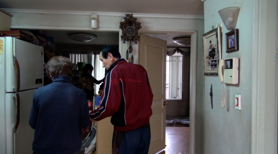 A scene from the film. Choi and her father-in-law, Han Heung-man together before the family moved out of his home. [EIDF 2020]