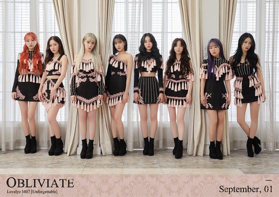 Girl group Lovelyz [WOOLLIM ENTERTAINMENT]