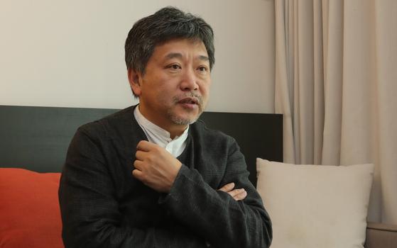 Filmmaker Hirokazu Koreeda [SONG BONG-GEUN]