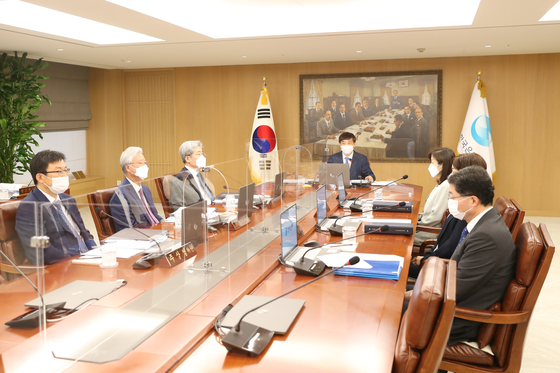 Bank of Korea's Monetary Policy Board holds meeting on Thursday. [BANK OF KOREA]