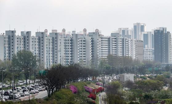 A view of Banpo-dong in Seocho District, southern Seoul. [YONHAP]