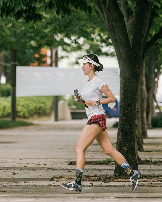 Lululemon's virtual marathon SeaWheeze Virtual Run 2020. [LULULEMON]