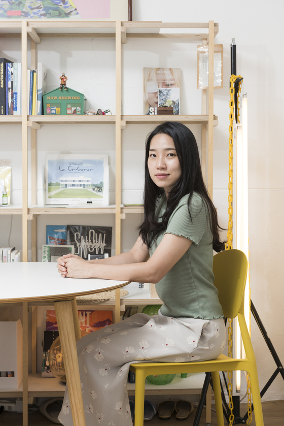 Jeon Myeong-hee, realtor and the head of Byeoljib Real Estate Agency. [YU YEONG-JUN]