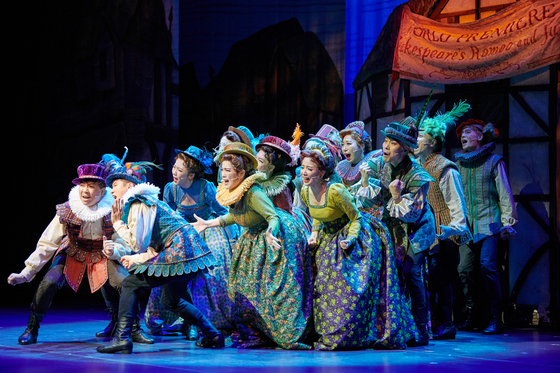 """Set in the Renaissance period, comedy musical 'Something Rotten!"""" portrays a journey of two brothers who endeavor to write their own masterpiece to outdo their archrival William Shakespeare. [M THEATER]"""