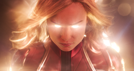 """Scene from """"Captain Marvel."""" [WALT DISNEY KOREA]"""