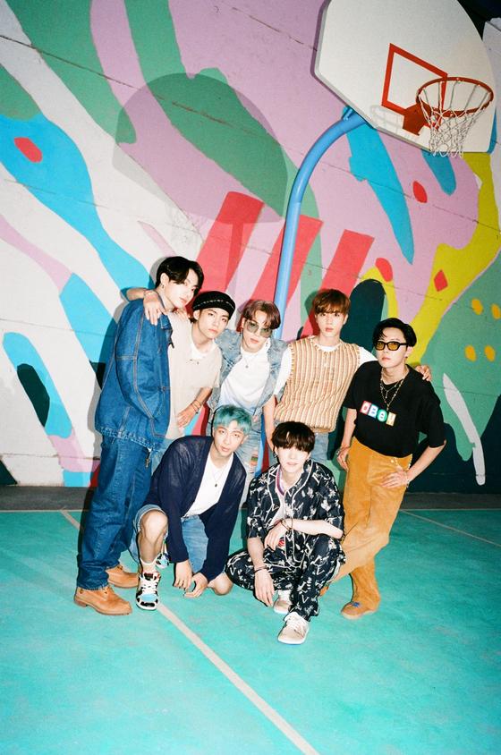 Boy group BTS. [BIG HIT ENTERTAINMENT]