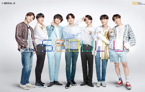 BTS has been the honorary tourism ambassador for Seoul city for four years since 2017. [SEOUL TOURISM ORGANIZATION]