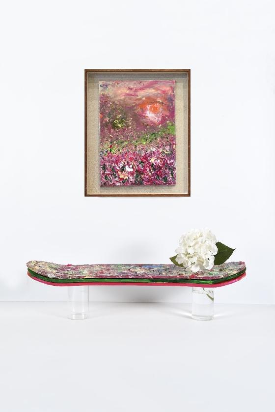 """Artist Kwon Ji-an's """"Palette Garden."""" [M.A.P CREW]"""