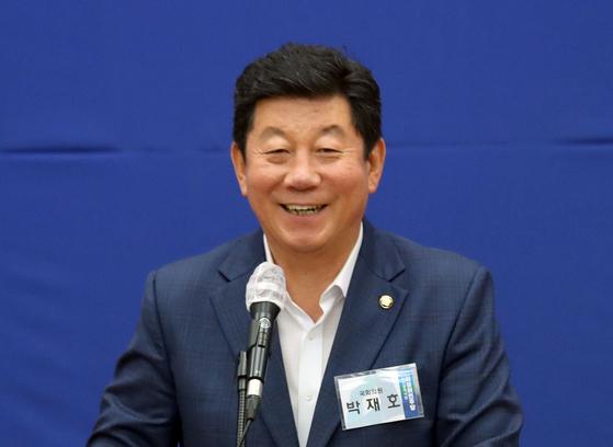 Democratic Party (DP) Rep. Park Jae-ho.  [YONHAP]