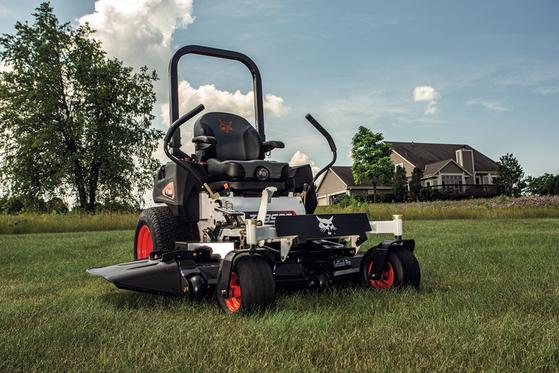 Doosan Bobcat's redesigned zero-turn mower. [DOOSAN BOBCAT]