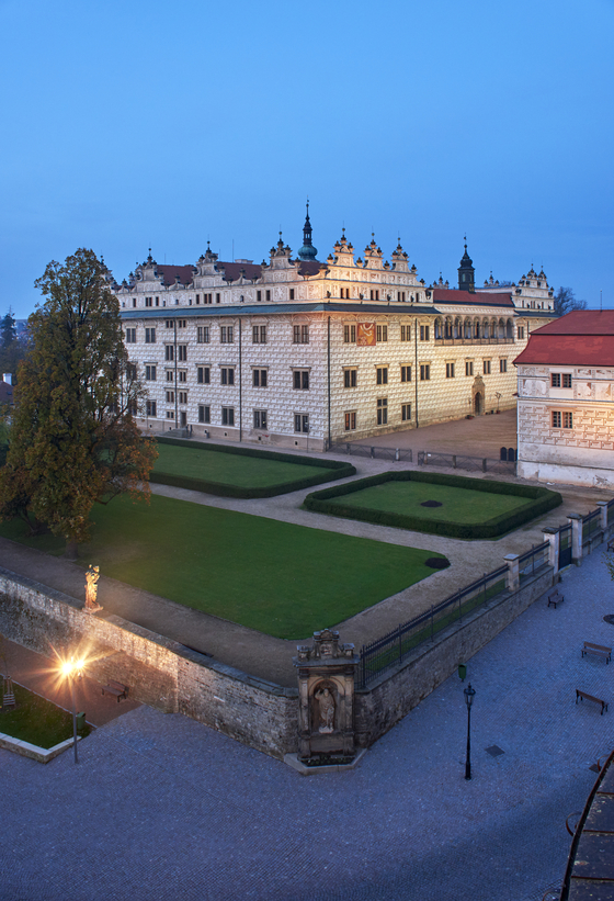 Litomysl Castle in Pardubice region of the Czech Republic, which was inscribed as a Unesco World Heritage site in 1999. [CZECH TOURISM/PAVEL VOPALKA]