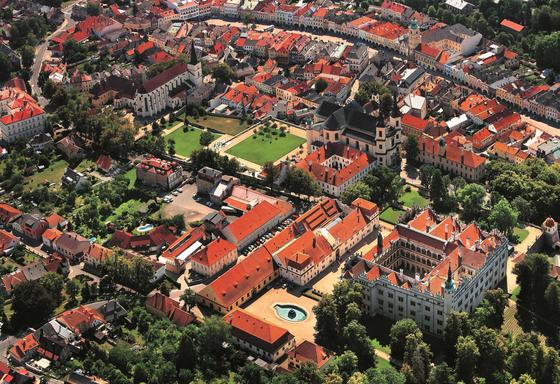The area surrounding Litomysl Castle in Pardubice region of the Czech Republic. [CZECH TOURISM/LIBOR SVACEK]