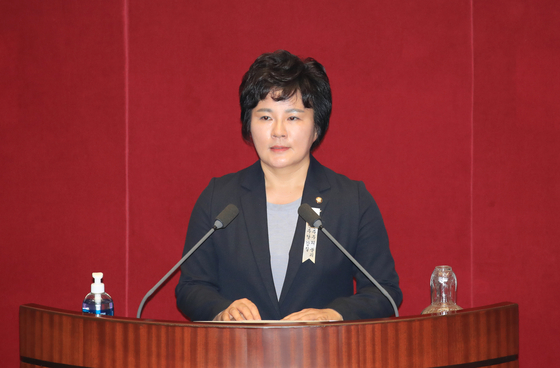 Rep. Cho Su-jin of the People Power Party (PPP).  [YONHAP]