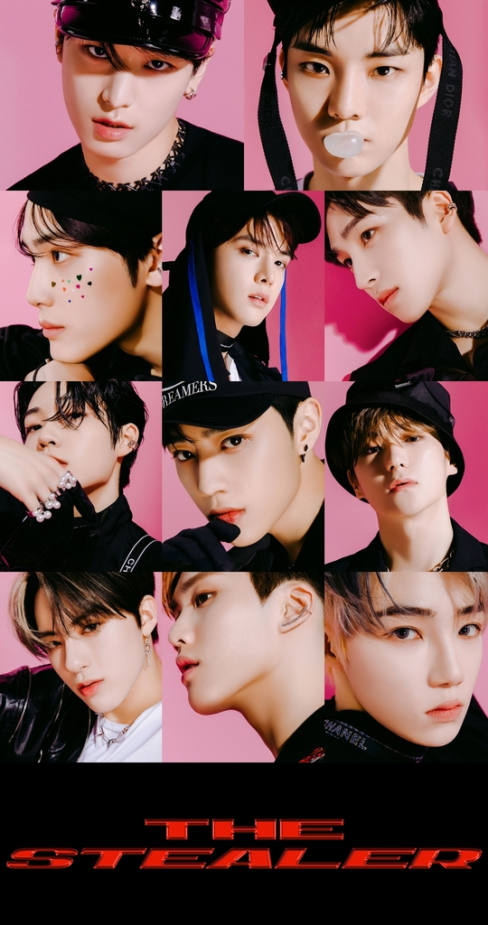 """Poster for the upcoming EP """"Chase"""" by boy band """"The Boyz."""" [CRE.KER ENTERTAINMENT]"""