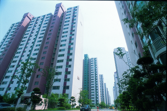 The first ever apartment to be named Raemian in Suwon, Gyeonggi. [SAMSUNG C&T]