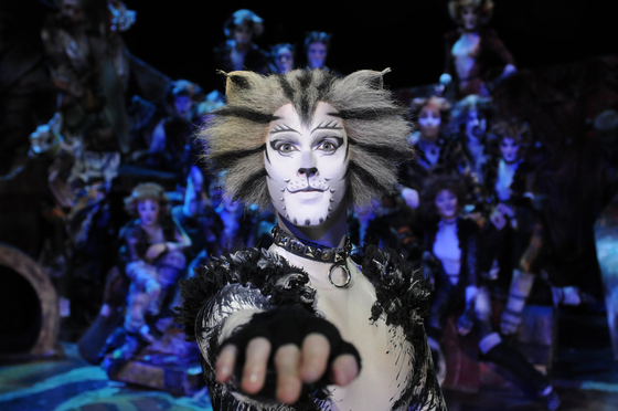 """The musical 'Cats"""" is making its way back to Korean soil to commemorate the 40th anniversary of its debut. The original production team returns with updated props, costumes and lights. [SNCO]"""