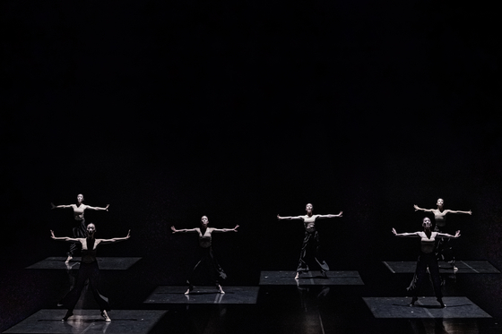 """Into the Pulse,"" choreographed by Kang Hyo-hyung of the Korean National Ballet. [KOREAN NATIONAL BALLET]"