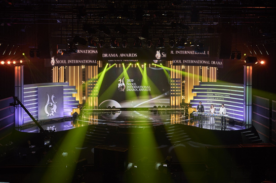 The 15th Seoul International Drama Awards (SDA) ceremony was hosted with the least number of presenters and no recipients due to Covid-19. [SDA]