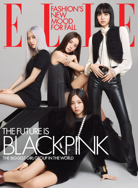 Girl group Blackpink [YG ENTERTAINMENT]