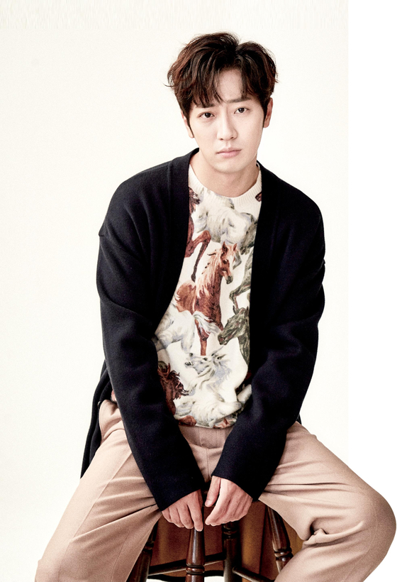 Actor Lee Sang-yeob. [ILGAN SPORTS]